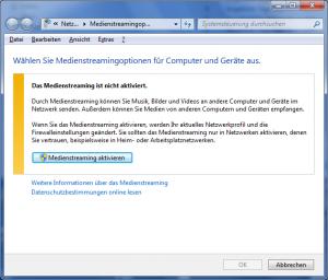 mediastreaming-bei-windows-7-einschalten