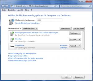 mediastreaming-unter-windows-7
