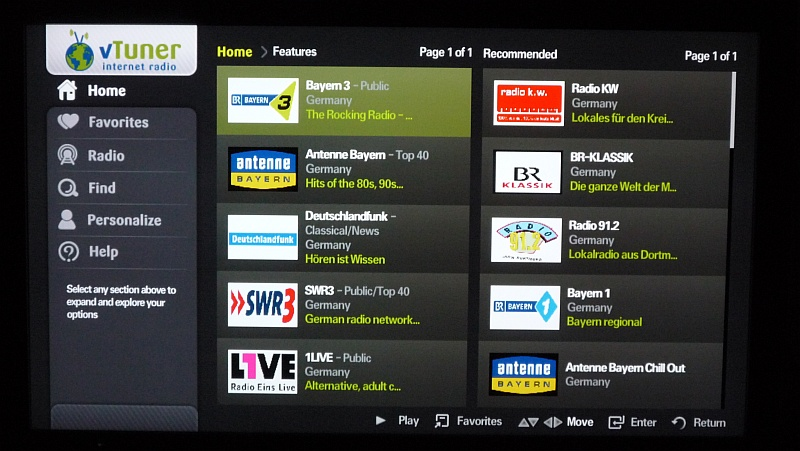 samsung tv mit internet tv vtuner robins blog technik und multimedia. Black Bedroom Furniture Sets. Home Design Ideas