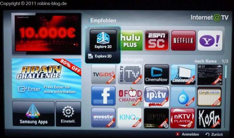 samsung internet tv l ndereinstellungen ndern f r neue samsung tv apps robins blog. Black Bedroom Furniture Sets. Home Design Ideas