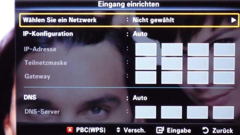 Schritt 2: Dann Euer WLAN-Netzwerk auswählen ...