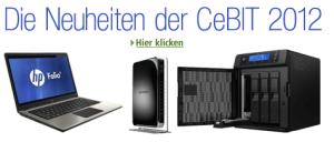 CeBIT Neuheiten von amazon.de