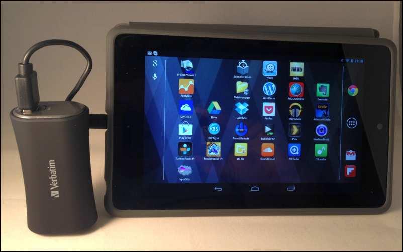 Verbatim Portable Power Pack nexus 7