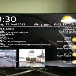 Desktop mit eMail, Wetter und Webcam für Samsung TV der F-Serie (experimental)