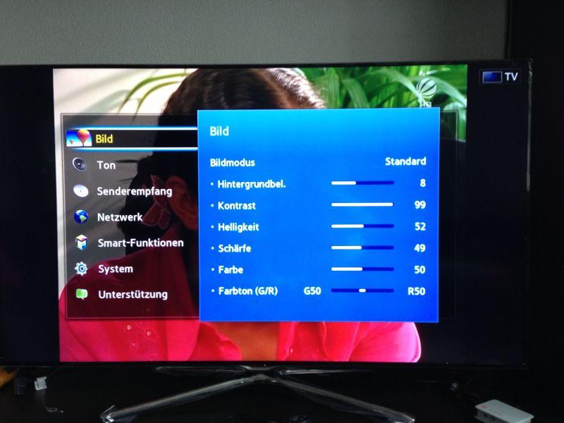 Tv Bildeinstellung