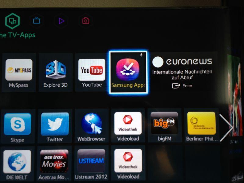 Samsung Smart Hub Apps Installieren