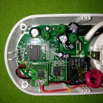 ELV - PCA 301 Steckdose geöffnet - klicken, um zu vergrößern