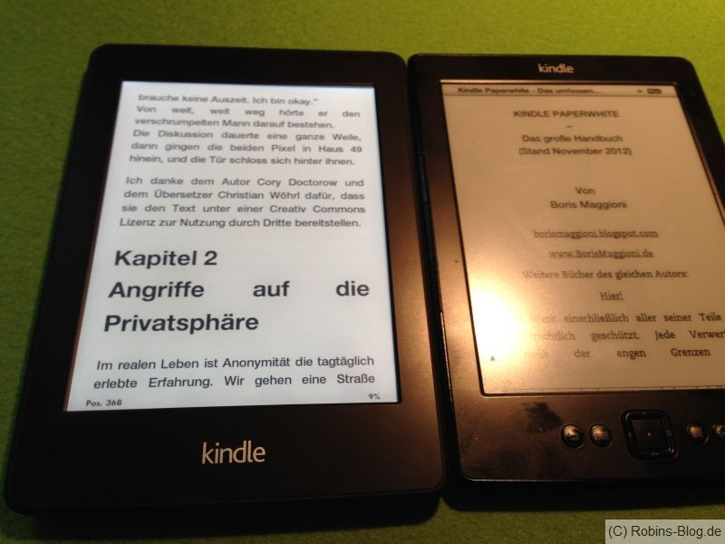 kindle paperwhite kindle4