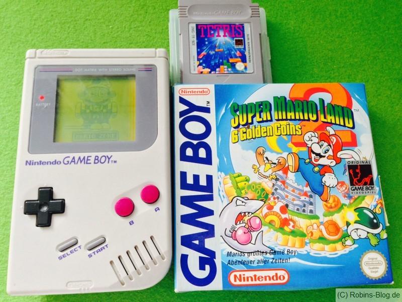 Game Boy - 25 Jahre - mit Tetris und Super Mario Land