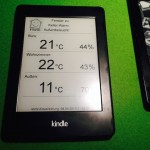 Kindle Paperwhite 2 (jailbreak) mit Fhem als Screensaver