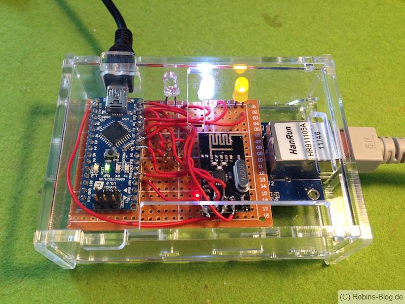 gatewaylan mit arduino