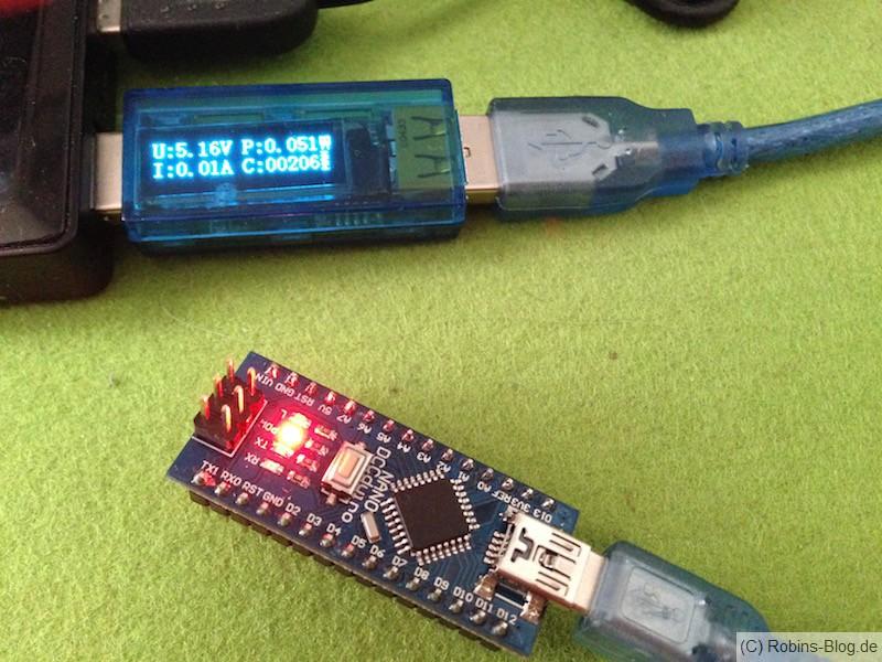 Arduino Nano im Einsatz
