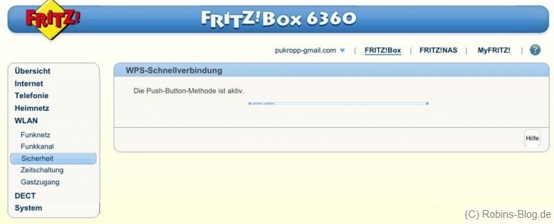 fritzbox wps