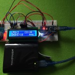 Gassensor MQ-7 mit LCD-Display und Arduino Nano