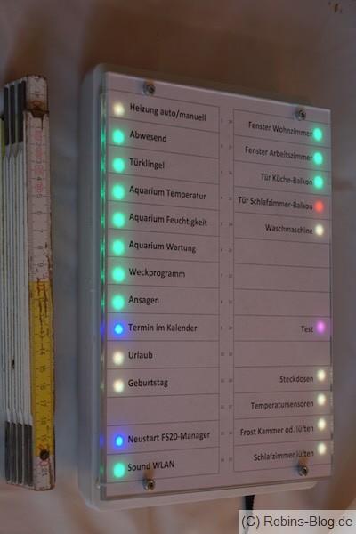 LED info panel