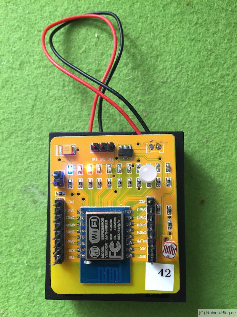 testboard esp8266 12