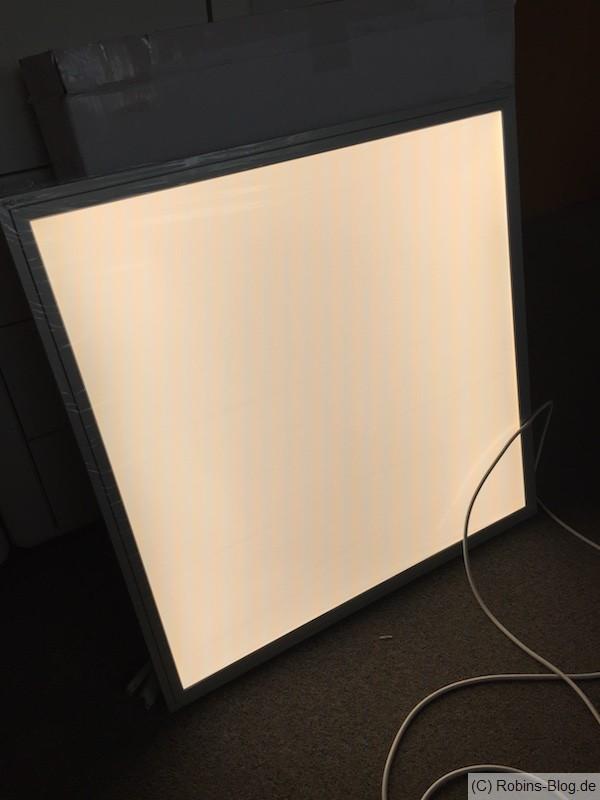 LED Deckenlampe 60cm x 60cm kalt / neutral / warm gesteuert mit Mi Light - auch für Fhem