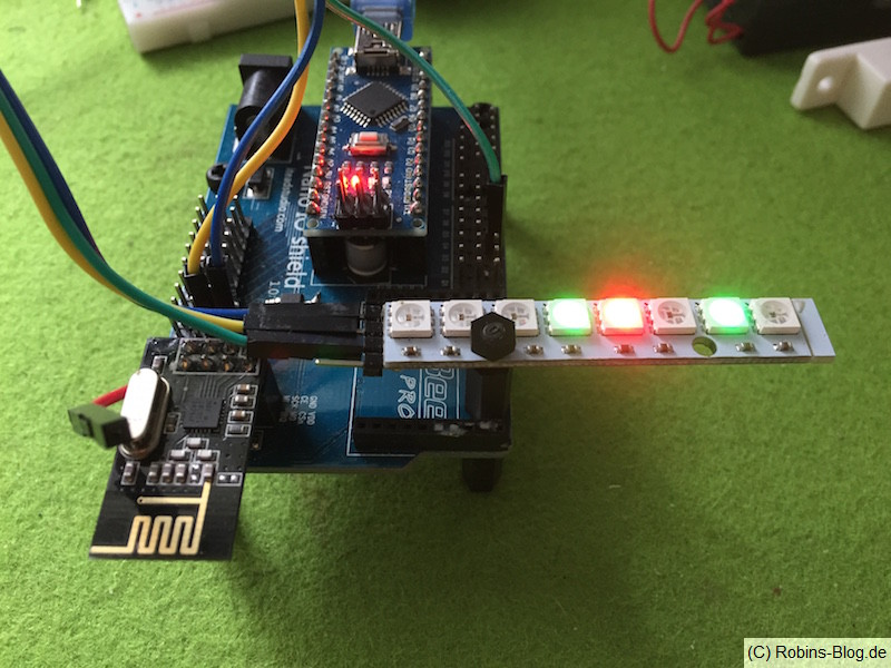 Fhem mit LED Statusanzeige / LED-Stripe WD2812B / MySensors | Robins ...