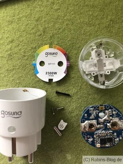 Fhem / ioBroker: Gosund SP 111 WLAN Steckdose mit Tasmota oder